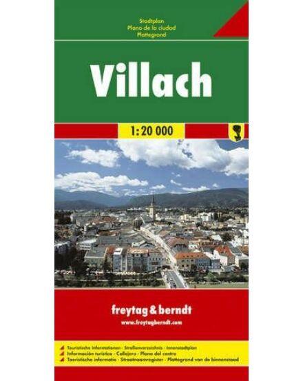 Cartographia  - Villach térkép