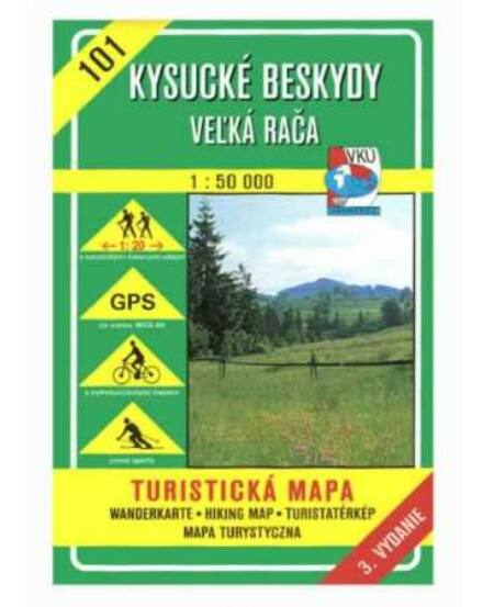 Cartographia  - HM101 Nyugati-Beszkidek turistatérkép