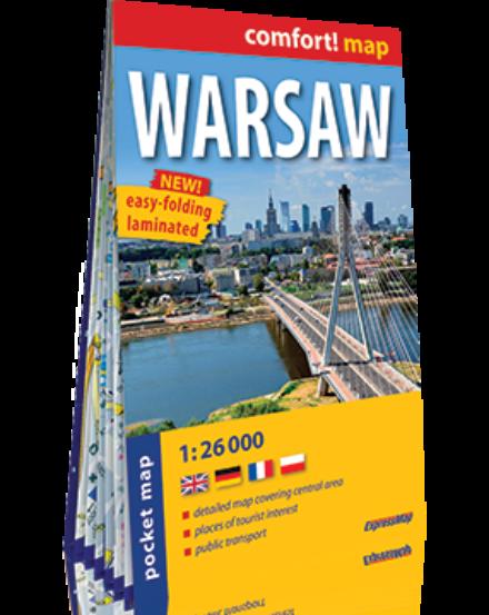 Cartographia  - Varsó Pocket Comfort térkép