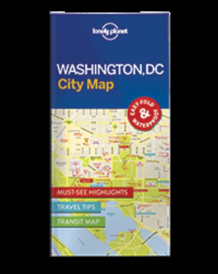Cartographia  - Washington DC laminált térkép Lonely Planet