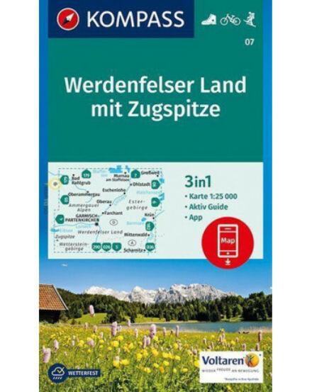 Cartographia  - K 07 Werdenfelser Land 2. turistatérkép