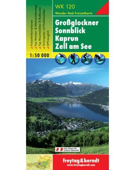 Cartographia  - WK120 Grossglockner-Kaprun- Zell am See turistatérkép
