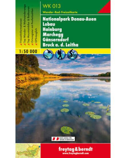 Cartographia  - WK013 Nationalpark Donau-Auen-Lobau-Hainburg-Marchegg-Gänserndorf-Bruck a.d. Leitha turistatérkép