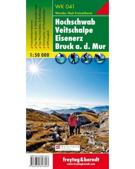 Cartographia  - WK041 Hochschwab-Veitschalpe-Eisenerz-Bruck an der Mur turistatérkép