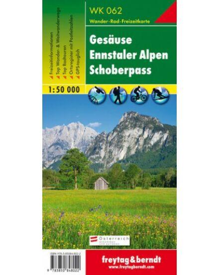 Cartographia  - WK062 WK062 Gesause-Ennstaler Alpen-Schoberpass turistatérkép