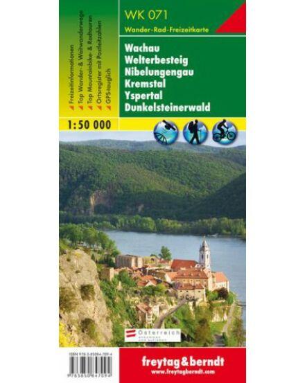 Cartographia  - WK071 Wachau–Welterbesteig–Niebelungengau–Kremstal–Yspertal–Dunkelsteinerwald turistatérkép