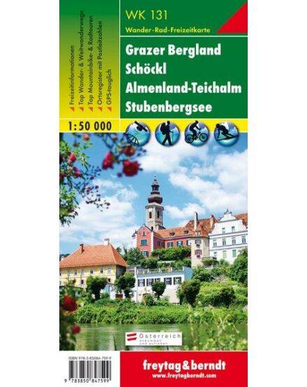 Cartographia  - WK131 Grazer Bergland-Schöckl-Almenland-Teichalm-Stubenbergsee turistatérkép