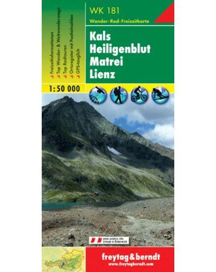 Cartographia  - WK181 Kals-Heiligenblut-Matrei-Lienz turistatérkép
