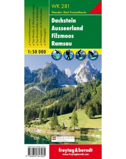 Cartographia  - WK281 Dachstein-Tauern turistatérkép