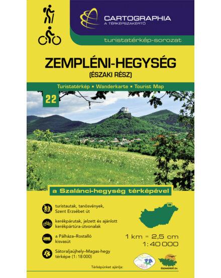 Cartographia  - Zempléni-hg. észak turistatérkép [22]