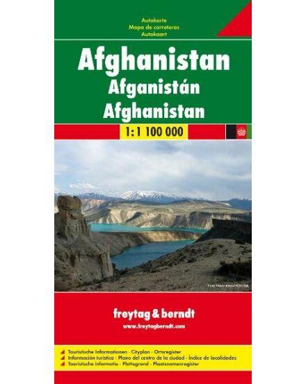 Cartographia  - Afganisztán térkép