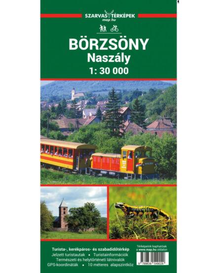 Cartographia  - Börzsöny, Naszály, Helembai-hegység turistatérkép
