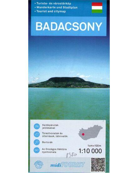Badacsony turistatérkép 1:10 000