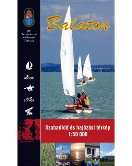Balaton Szabadidő- és hajózási térkép 1:50 000 (HM)