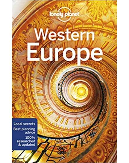 Nyugat-Európa útikönyv (angol) Lonely Planet