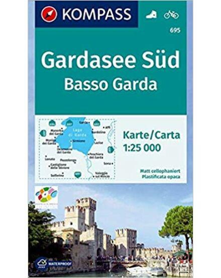 Cartographia  - K 695 Garda-tó déli rész turistatérkép