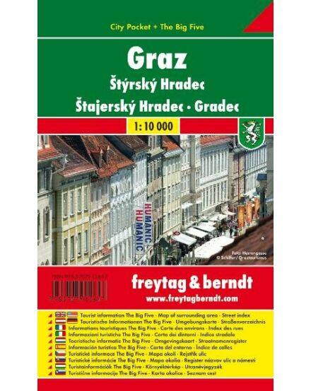 Cartographia  - Graz City Pocket várostérkép