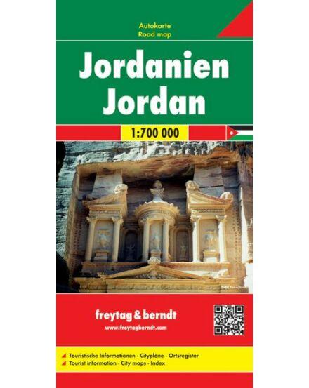 Cartographia  - Jordánia térkép