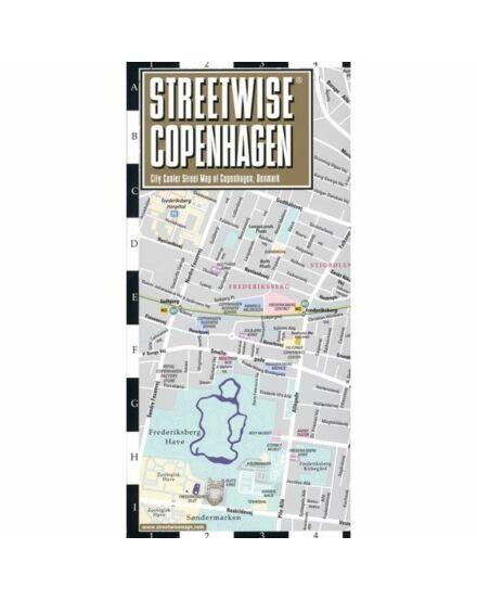 Koppenhága (streetwise) várostérkép