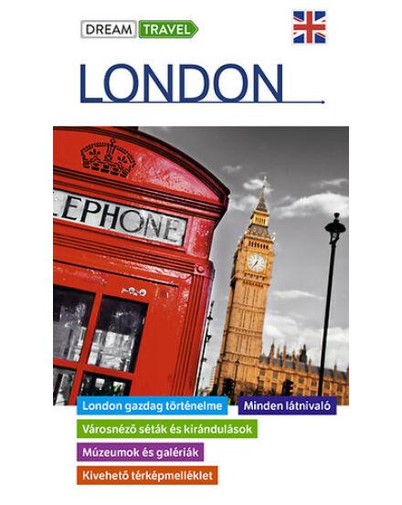 London útikönyv - kivehetőtérkép melléklettel