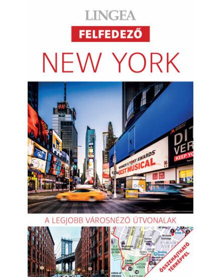 Cartographia  - New York felfedező útikönyv + tkp. (Lingea)