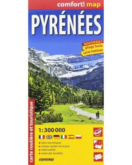 Cartographia  - Pireneusok Comfort térkép