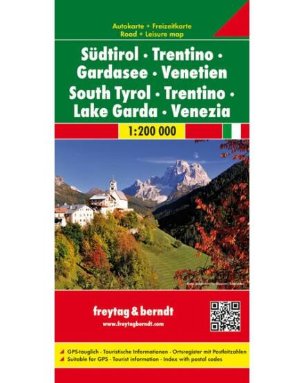 Cartographia  - Dél-Tirol / Trentino térkép