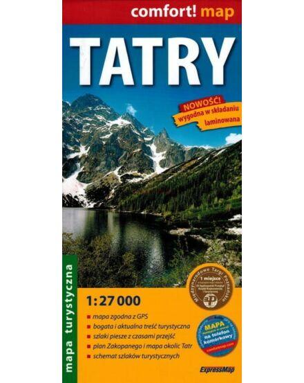 Tátra (Lengyelország) turistatérkép 1:27 000