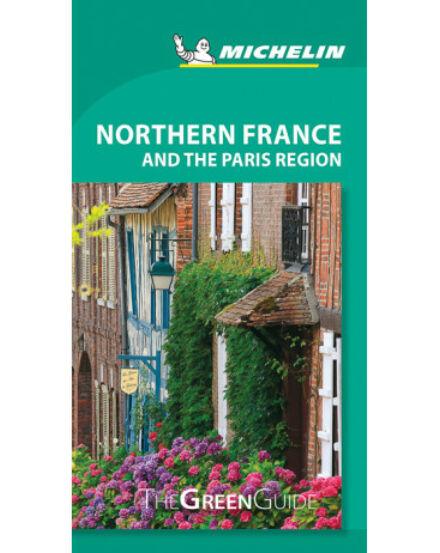 Észak-Franciao. és a Párizs régió útik.(angol) Michelin