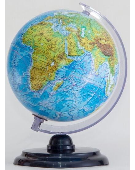 Cartographia  - Földgömb - hegy-vízrajzi, 25 cm átmérőjű