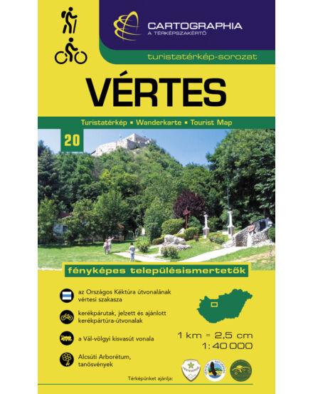 Cartographia  - Vértes turistatérkép [20]