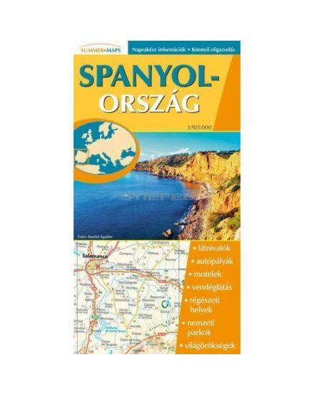 Spanyolország térkép (Stiefel)