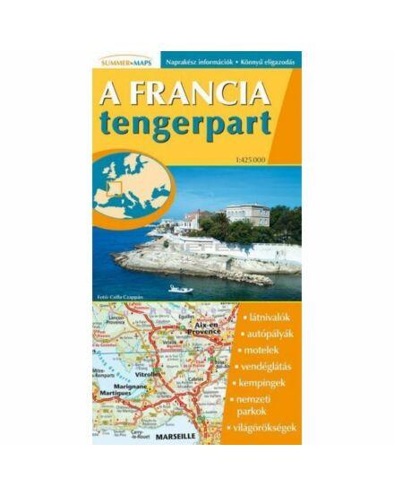 A francia tengerpart térkép (Stiefel)