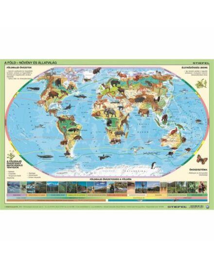 Világ állatai/állatok élőhelye könyöklő (Stiefel)