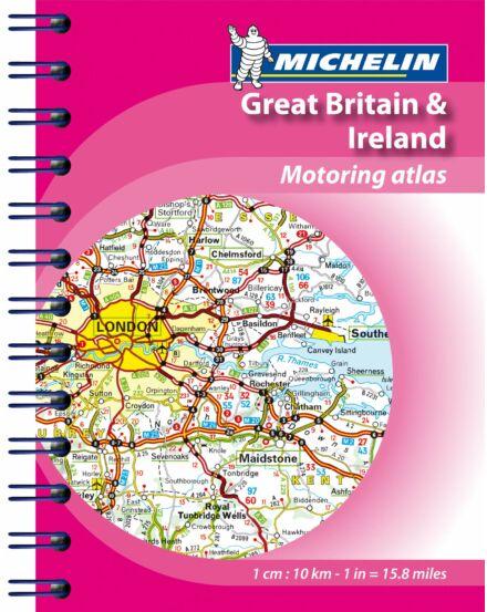 Nagy-Britannia, Írország miniatlasz_Cartographia