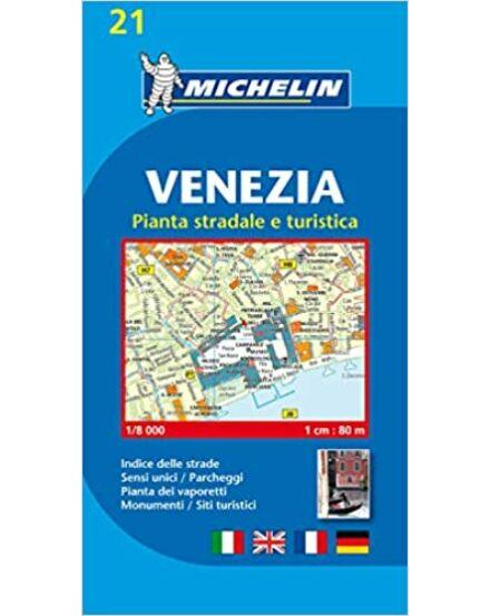 Velence várostérkép (Michelin)