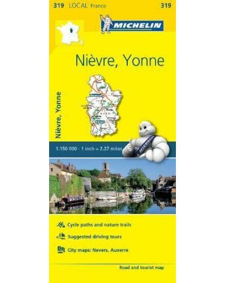 Nievre, Yonne_Cartographia