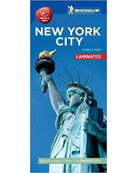 New York várostérkép (Michelin) laminált