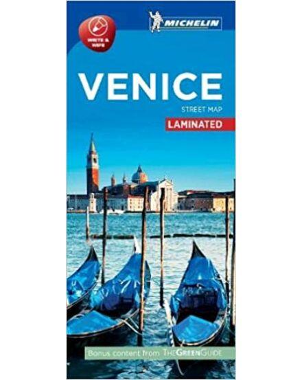 Velence várostérkép (Michelin) laminált