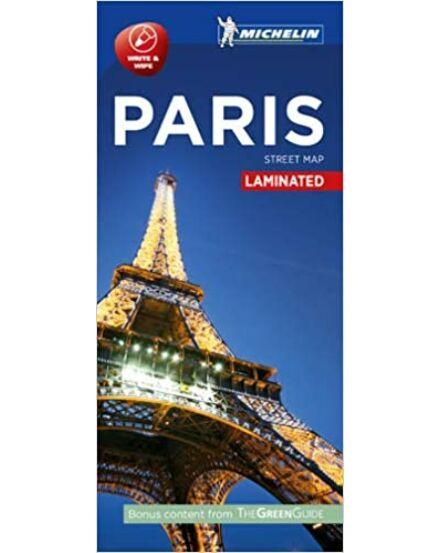 Párizs várostérkép (Michelin) laminált