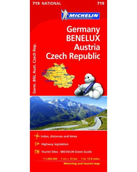 Németo, Benelux, Ausztria, Cseho. tkp_Cartographia