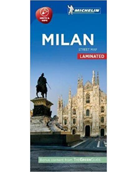 Milánó várostérkép (Michelin) laminált