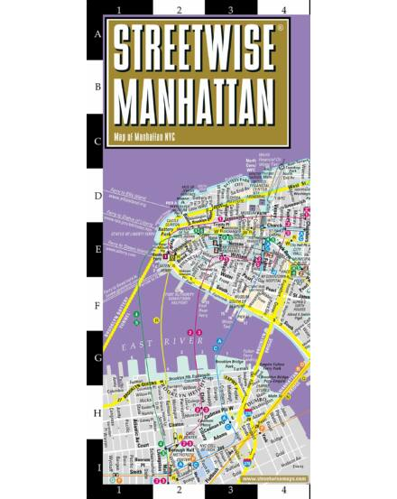Manhattan (Streetwise) várostérkép