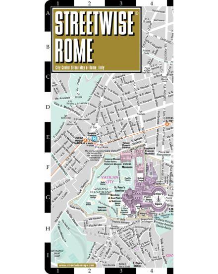 Róma (Streetwise) várostérkép