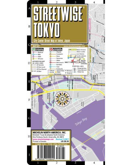 Tokyo (streetwise) várostérkép