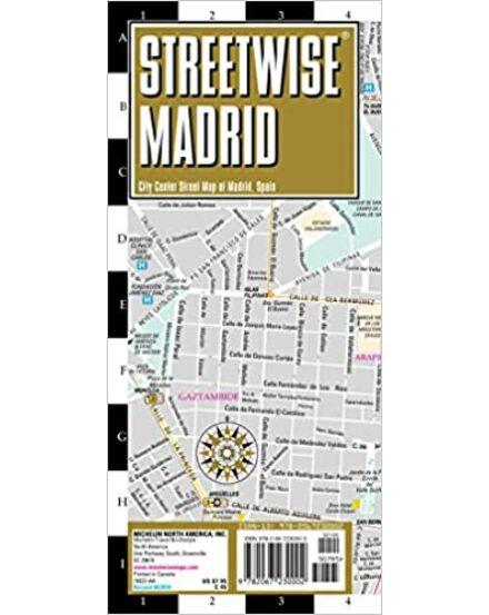 Madrid (Streetwise) várostérkép