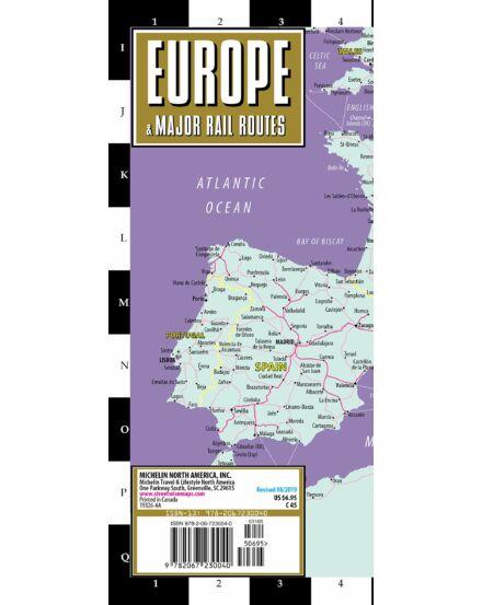 Európa vasútvonalai_Cartographia
