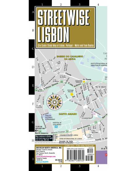 Lisszabon (streetwise) várostérkép