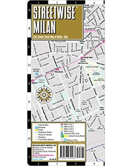 Milánó várostérkép (Michelin) STREETWISE