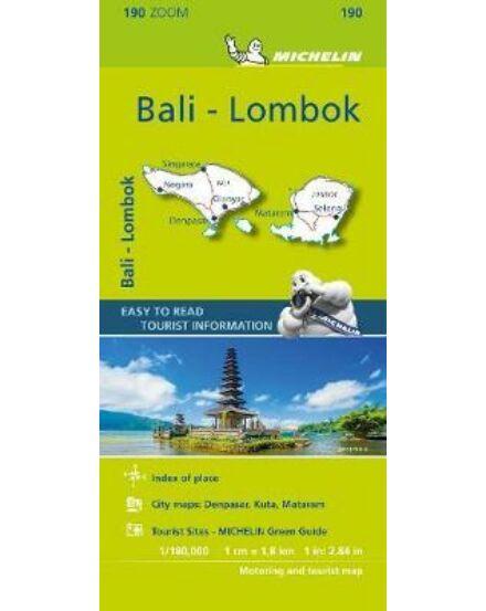 Bali / Lombok térkép (Michelin) Asia ZOOM